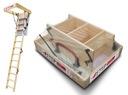 Schody Strychowe EXTRA 46mm, 90x80 80x90 + GRATIS!