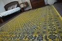 DYWAN VINTAGE 80x150 KWIATY żółty #B831 Kształt Prostokąt