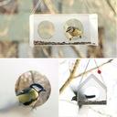Wiszący karmnik dla ptaków TWEET RESTO BAR. Szerokość 19.8 cm