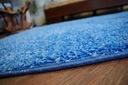 DYWAN SHAGGY 80x120 niebieski 5cm miękki @10235 Grubość 50 mm