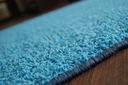 DYWAN SHAGGY SPHINX niebieski 80x100 cm MIĘKKI Długość 100 cm