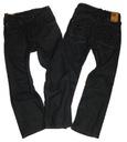 SPODNIE 92 H&M jeansowe RELAXED kieszenie