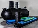 Przydomowa oczyszczalnia ścieków do 7 8 os. 3000l Rodzaj szamba plastikowe