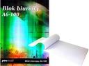BLOK BIUROWY LISTOWY A6 100 KARTEK KRATKA NOTATNIK
