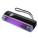 Tester banknotów ultrafiolet, lampa UV 4xAA