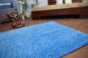 DYWAN SHAGGY 80x120 niebieski 5cm miękki @10235 Kształt Prostokąt