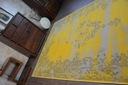DYWAN VINTAGE 140x200 ROZETA żółty TRADYCJA #B100 Kształt Prostokąt