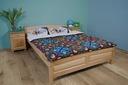Łóżko z drewna BUKOWEGO Filonek 160x200 BUKOWE 24h