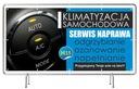 Solidny Baner reklama 2x1m Klimatyzacja Szyld Waga (z opakowaniem) 1 kg