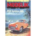 Modelik 17/08 Samochód FSM Syrena 105 L 1:25