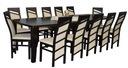 ada-meble AVANTI stół 100x160/400 krzesła 12szt!!