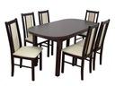 PROMOCJA stół 80x160x200 owal + 6 krzeseł WARSZAWA