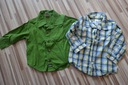 Koszule chłopięce r.74 NEXT / C&A 2 szt