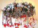 WIANEK FOLK stroik świąteczny dekoracja OGROMNA
