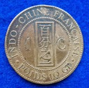 Indochiny Francja 1 Cent  1892 r.  393/12
