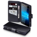 Etui książkowe Terrapin do Nokia Lumia 950 czarne