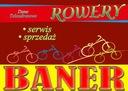Baner banery rowery sklep rowerowy reklama sport