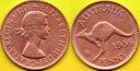 Australia  1  Penny  1956 r. - 1