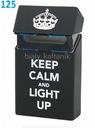 Silikonowe etui na paczkę papierosów - Keep Calm
