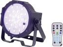 Reflektor sceniczny LED PAR Renkforce Akku DL-PAR1
