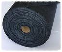Fizelina z klejem 100x100cm 50g/m czarna, haft