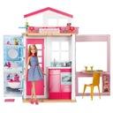 Mattel Barbie Domek Dwupoziomowy z Lalką DVV48 24h