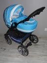 wózek gondolka -niebieska - modna konstrukcja