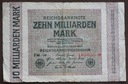 #10Milliarden mark 1923 Ros.114D....od 9,99zł