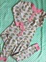 Primark super piżama pajac popcorn 140 9-10
