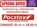 POCZTEX PACZKA 5KG - Przesyłki KURIERSKIE FV23%