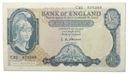 39.Wlk.Brytania, 5 Funtów 1957 - 1967, St.3+