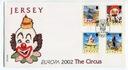 Jersey Michel nr: 1019 - 1022 FDC