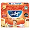 Tetley Redbush Vanilla - Herbata Czerwona 40 - UK