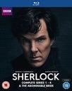 Sherlock - Series 1-4 & Abominable Bride Box S