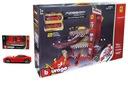 Burago Ferrari Downhill Racing Race Garaż 3 Auta