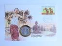 Koperta - INDONEZJA - 50 Sen 1961 - A520