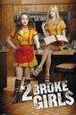 Dwie spłukane dziewczyny - plakat 61x91,5 cm