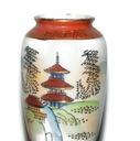 Porcelanowa mini waza japońska, vintage