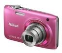Aparat Nikon Coolpix S3100 różowy