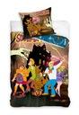 Pościel Dziecięca Bawełna Scooby Doo HIT 160x200