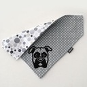 Bokser Pies bandanka, prezent dla psa boksera