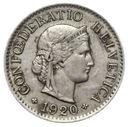 Szwajcaraia - moneta - 5 Rappen 1920 - RZADKA !