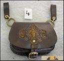 GOTHIC BELT BAG with Fleur de Lis