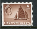 Singapore Malaya Michel nr: 30