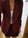 Elegancki komplet żakiet marynarka blazer spódnica