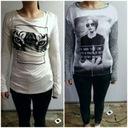 Dwie Nowe bluzki Sinsay Reserved zestaw paka bluzy