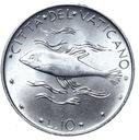 Watykan - moneta - 10 Lir 1970