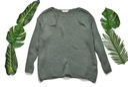 MARKS SPENCER *Sweter Zielony Over Luźny *42 XL