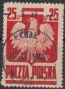 1945 - Wyzwol.10 miast - Łódz Fi 351I kas.