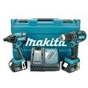 MAKITA DLX2006M WKRĘTARKA DDF459 KLUCZ DTD129 2x18